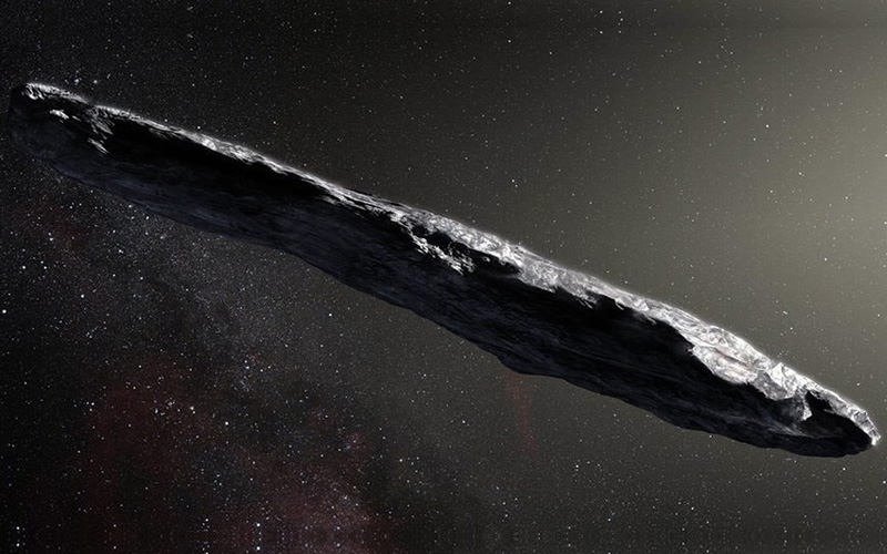 Oumuamua un viajero intergaláctico.